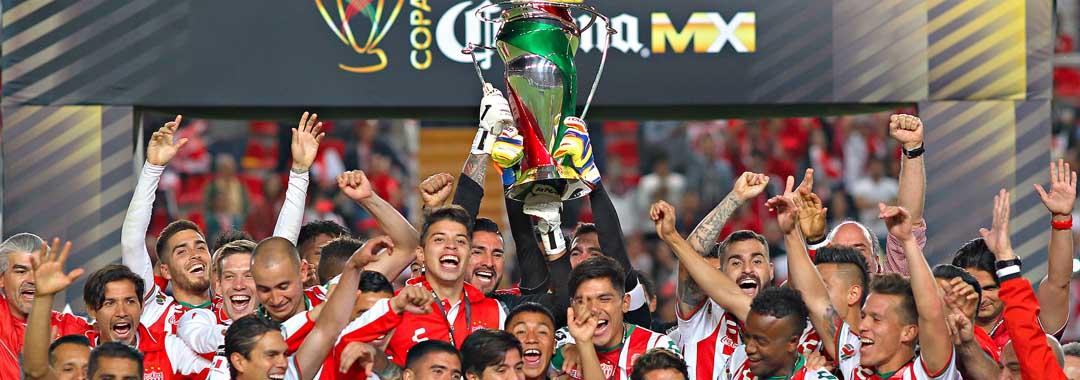Necaxa, Campeón de la COPA Corona MX.
