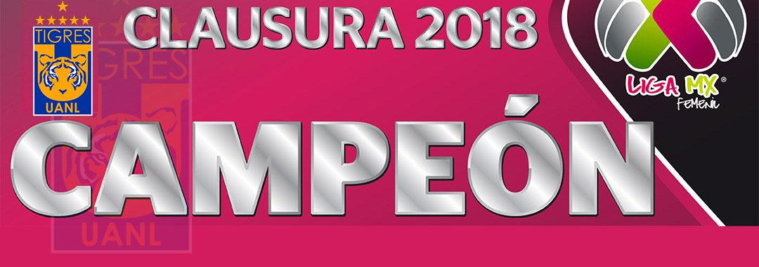 Tigres Femenil se Proclamó Campeón de la LIGA MX Femenil