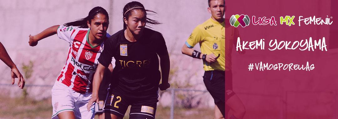 Akemi Yokoyama, Consolidación en la Central de Tigres Femenil