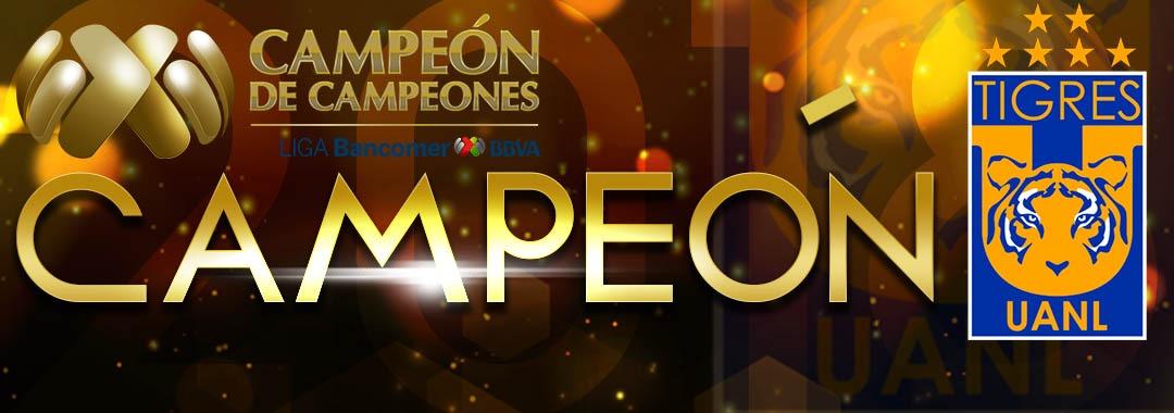 ¡Tigres se Corona en el Campeón de Campeones!
