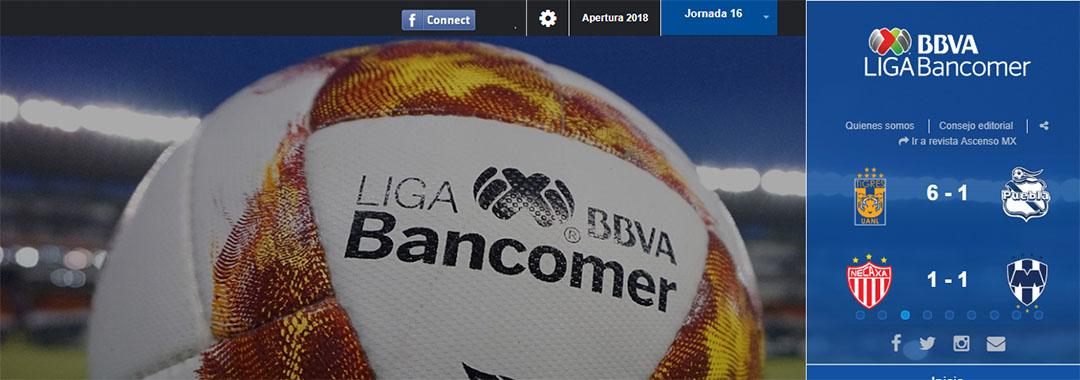 Revista Digital de la LIGA Bancomer MX: Jornada 16