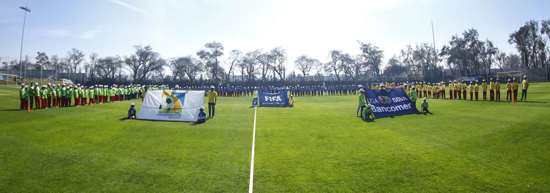 Fiesta de Inicio de Año en la Casa del Futbol