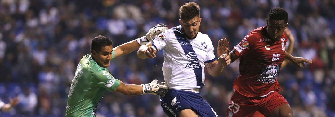Puebla y Pachuca Empataron en el Estadio Cuauhtémoc.
