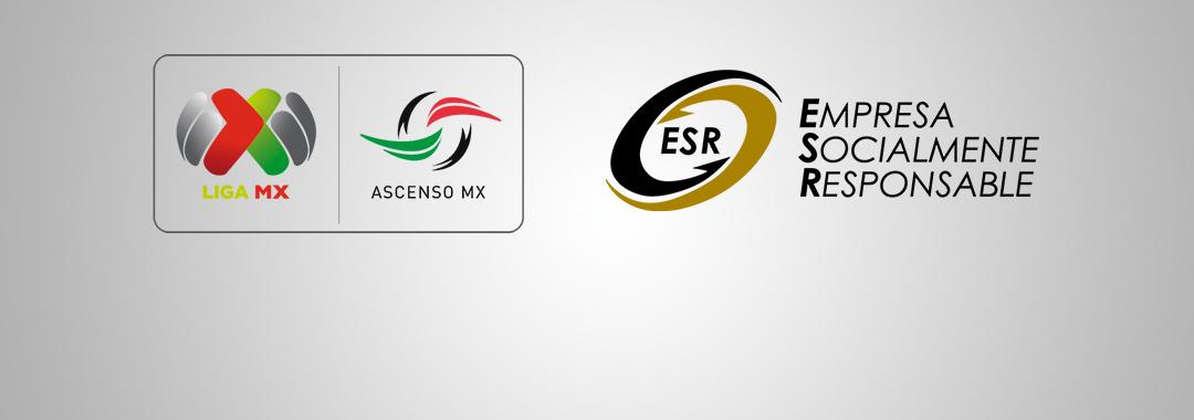 La LIGA MX / ASCENSO MX Recibirá el Distintivo ESR