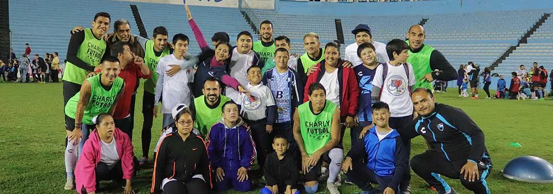TM Futbol y Campeones De Corazón, Juntos Por Un Deporte Inclusivo.