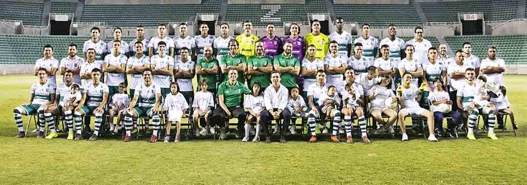 Club Atlético Zacatepec se Tomó la Foto Oficial.