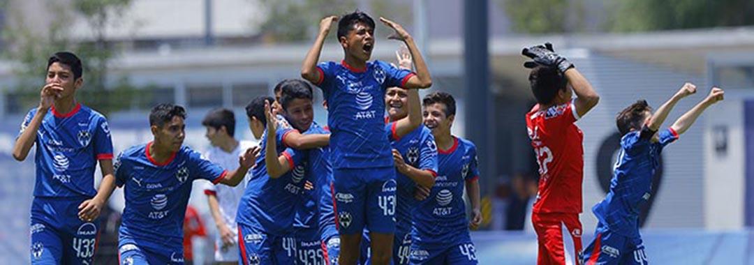 Monterrey Esta en Semifinales.