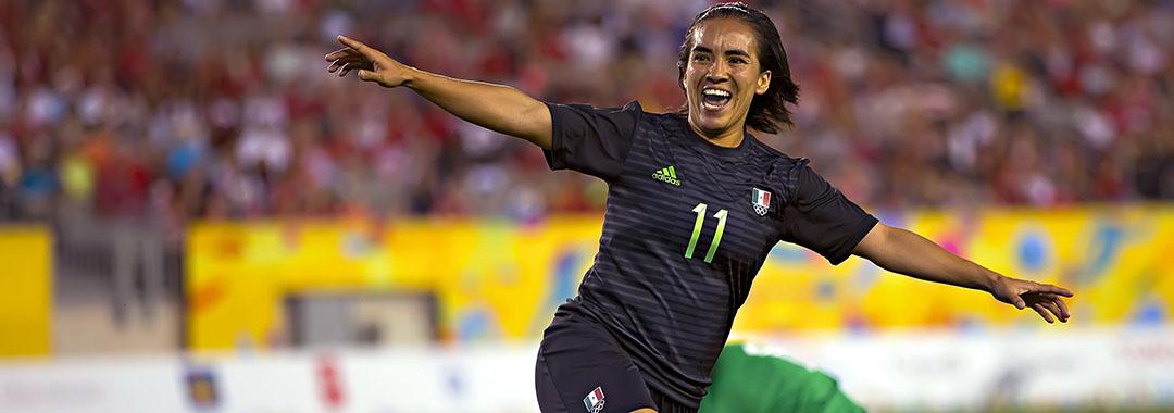 Mónica Ocampo, Nominada por uno de los Mejores Goles en Mundiales