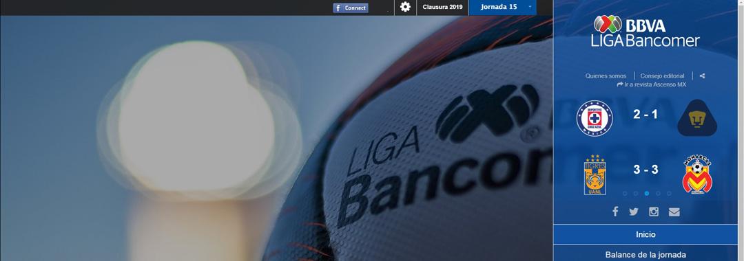 Te Presentamos la Revista Digital de la LIGA Bancomer MX