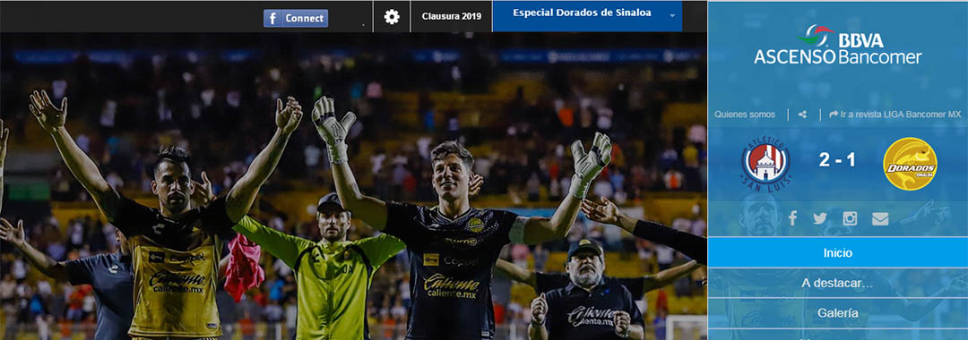 Revista Digital ASCENSO Bancomer MX: Especial de Dorados.
