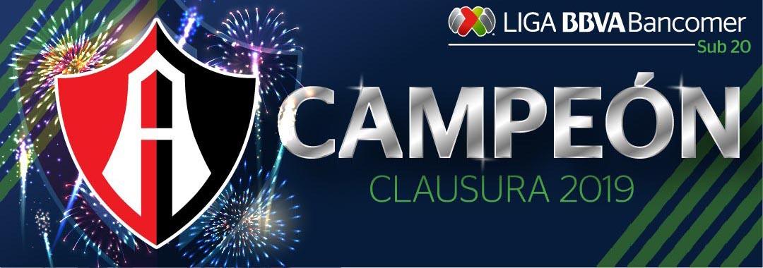 Atlas es Campeón de la LIGA Bancomer MX Sub 20
