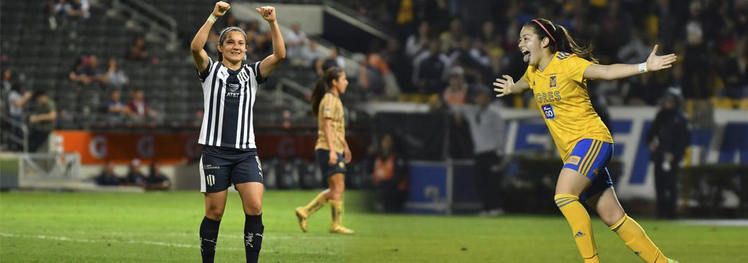 Desiree y Katty, Máximas Goleadoras del Año Futbolístico