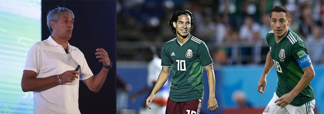 'El futbolista mexicano tiene mucha calidad'