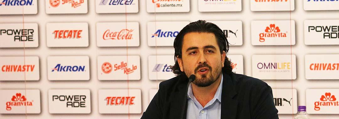 Amaury Vergara, Oficialmente Presidente Del Guadalajara