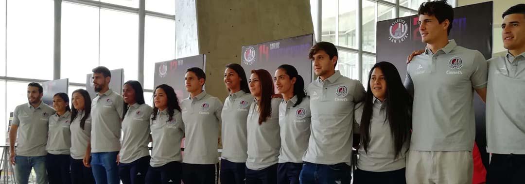 Atl. de San Luis Presentó a Sus Refuerzos y al Cuadro Femenil.
