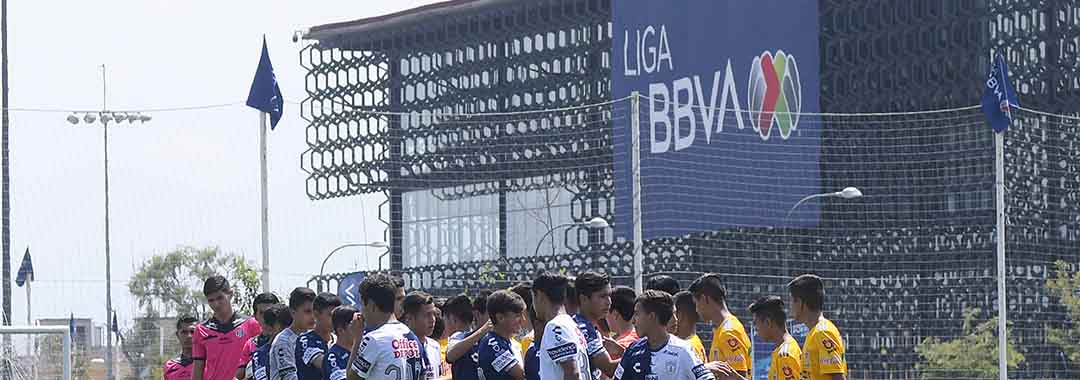 Listas Las Semifinales Del Torneo Sub-13 de la LIGA BBVA MX