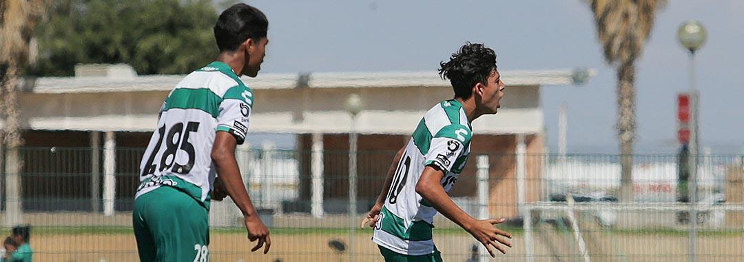 Tras Una Lluvia de Goles, Santos Ganó.