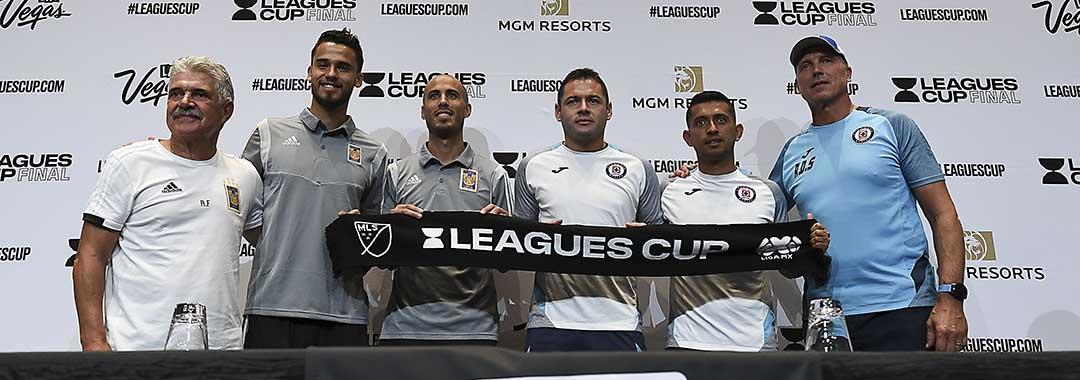 Conferencia Conjunta de los Jugadores de Tigres y Cruz Azul