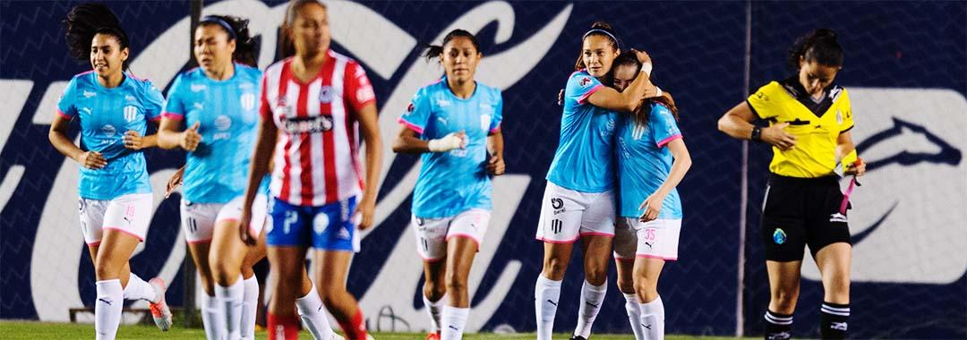 Las Rayadas Golearon al Atlético de San Luis