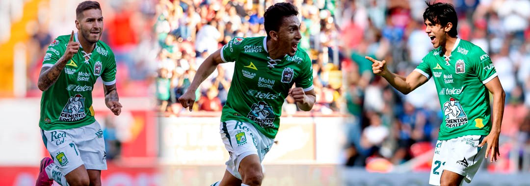 El Tridente del Gol en el Club León