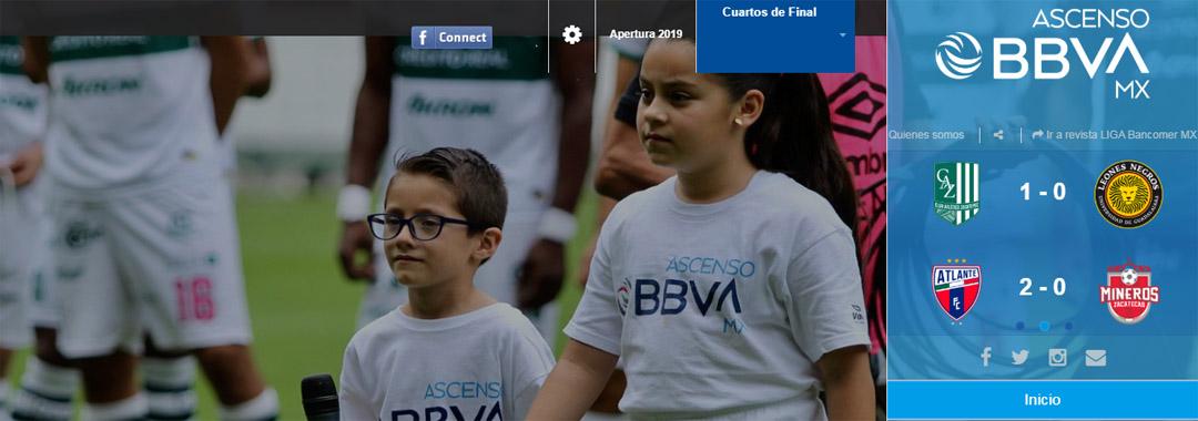Revista Digital de ASCENSO BBVA MX: Cuartos de Final.