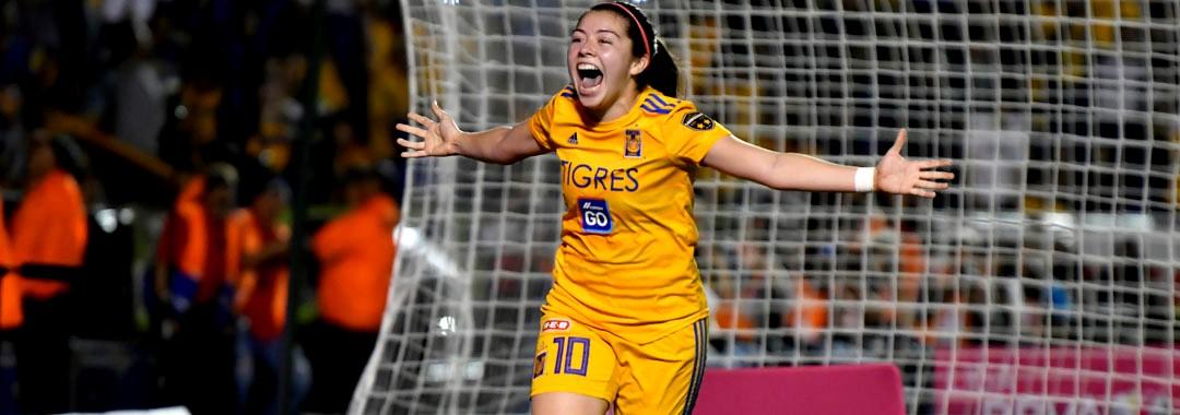 Katty Martínez, Sinónimo de Gol en Tigres Femenil