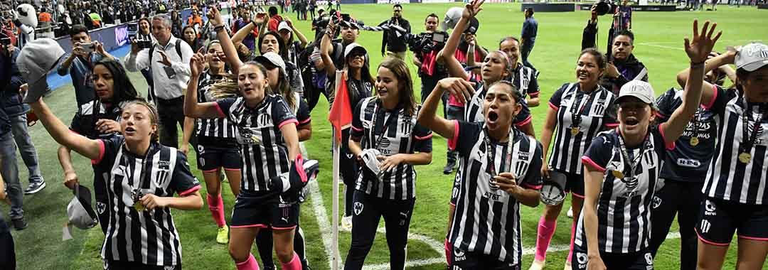 Las Voces de las Campeonas: Rayadas de Monterrey