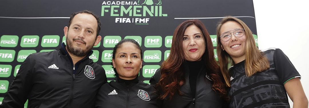 La Academia Femenil FIFA/FMF estará en Puebla el 1 y 2de febrero