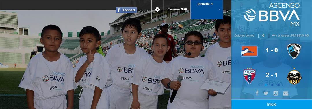 Revista Digital ASCENSO BBVA MX: Jornada 4.