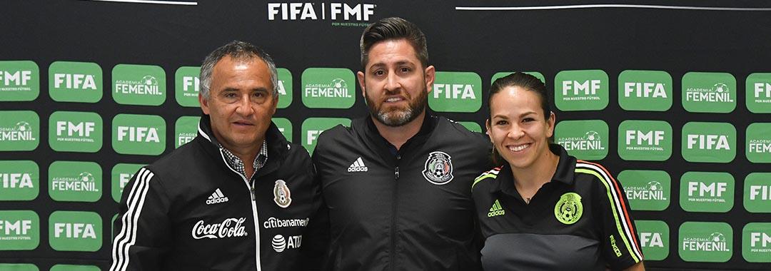La Academia Femenil FIFA / FMF Llegará a León