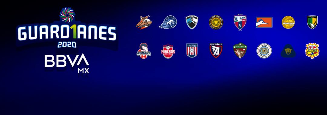 Estos Son los 16 Equipos de LIGA BBVA EXPANSIÓN MX