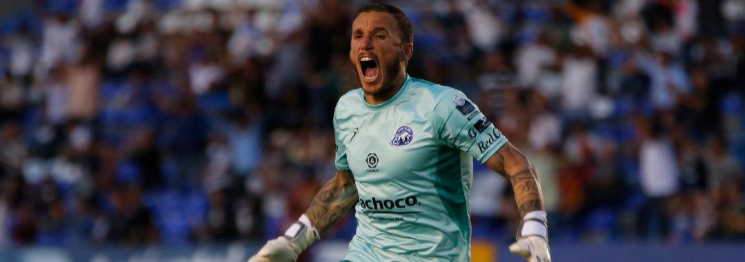 Cristian Campestrini, Atajador y Asistidor de Club Celaya
