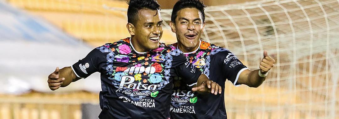 Alebrijes Gana y Julio Cruz Marca Doblete