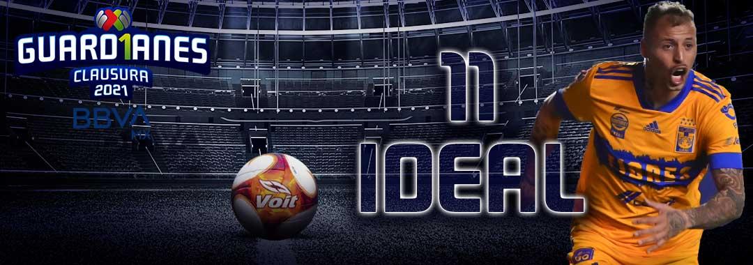 El 11 Ideal de la Jornada 8