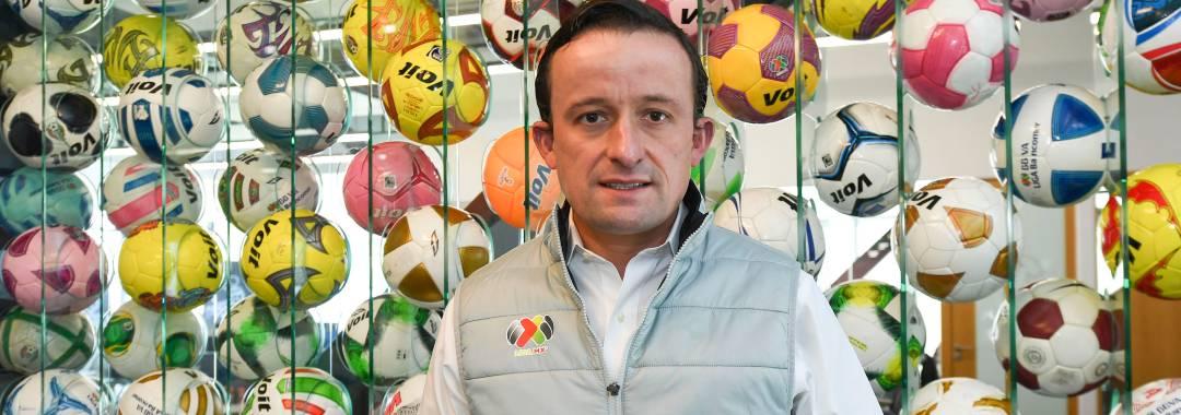 Mikel Arriola Iniciará Reuniones de Trabajo en la LIGA BBVA Expansión MX