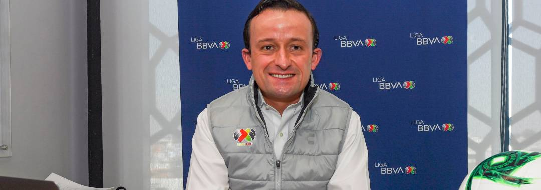 Mikel Arriola Inicia Sesiones de Trabajo en la LIGA BBVA Expansión MX