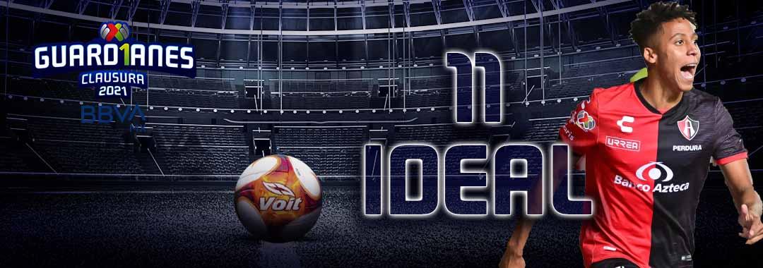 El 11 Ideal de la Jornada 17