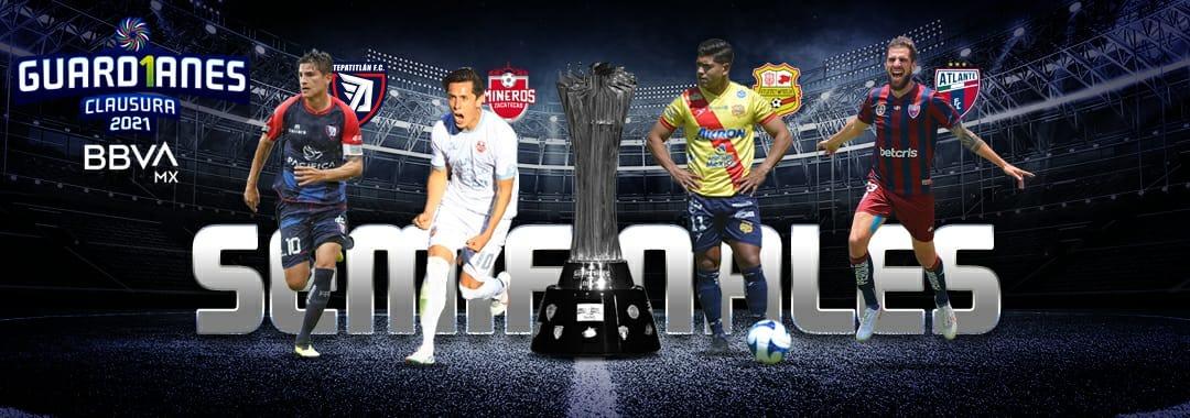 Cuatro Equipos Contendientes al Título del Guard1anes 2021