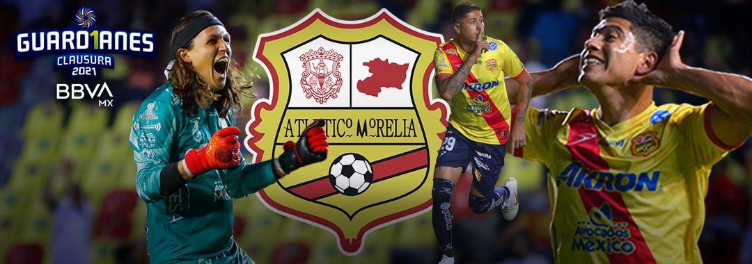 Los Pilares del Atlético Morelia en el Guard1anes 2021