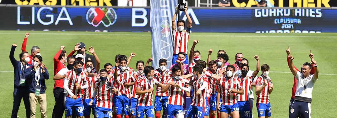 ¡Chivas, Campeón Sub-17!