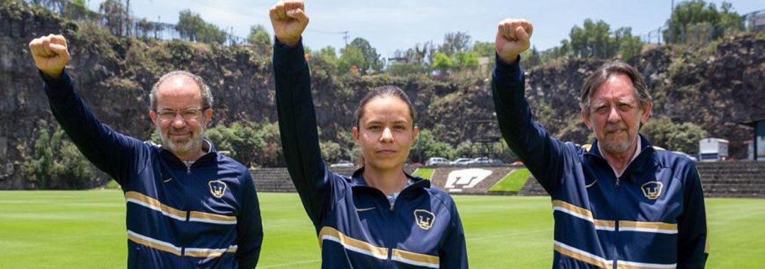 Karina Báez Fue Presentada como Estratega de Pumas