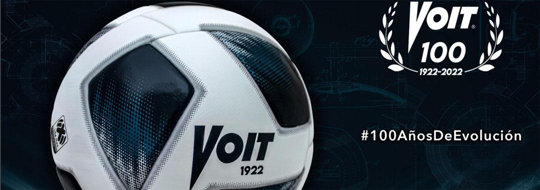 LIGA BBVA MX se pone a la vanguardia mundial con el nuevo Balón Voit 100 años