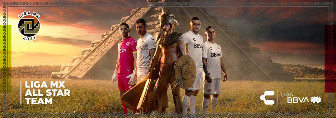 El uniforme CHARLY con el que Vestirán las Estrellas Ante la MLS