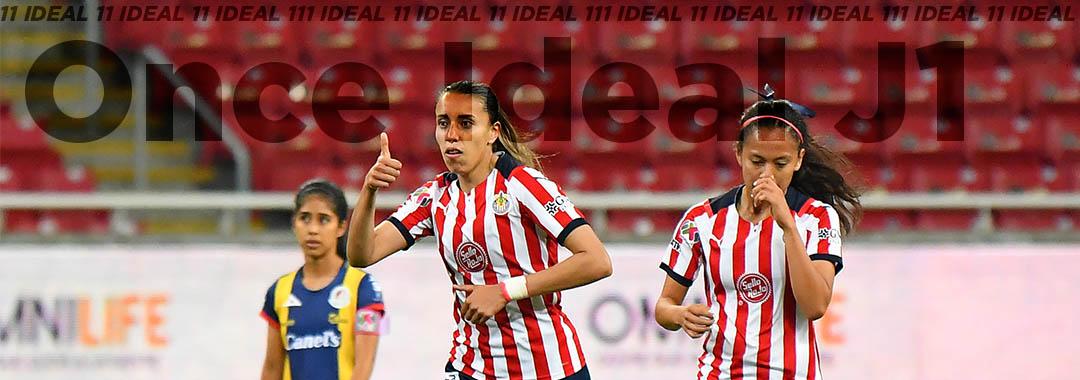 Once Ideal de la Jornada 1. Torneo Apertura 2021