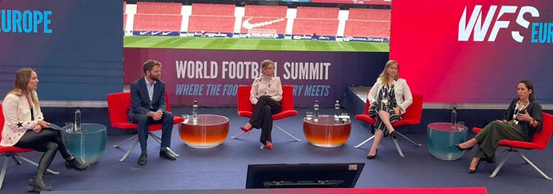 Mariana Gutiérrez y LIGA BBVA MX Femenil, con Participación en el World Football Summit Europa