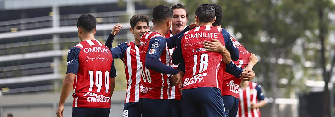 Chivas se Adueñó Del Clásico Nacional en la Categoría Sub 20.