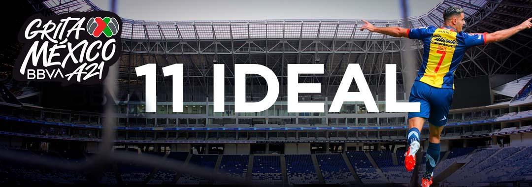 11 Ideal  de la Jornada 10