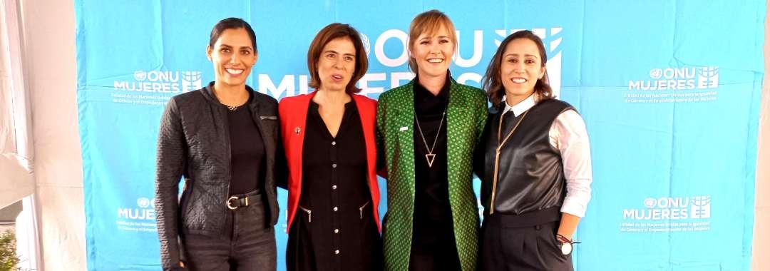 Mariana Gutiérrez Participó en el Panel 'Mujeres en el Deporte' de ONU Mujeres