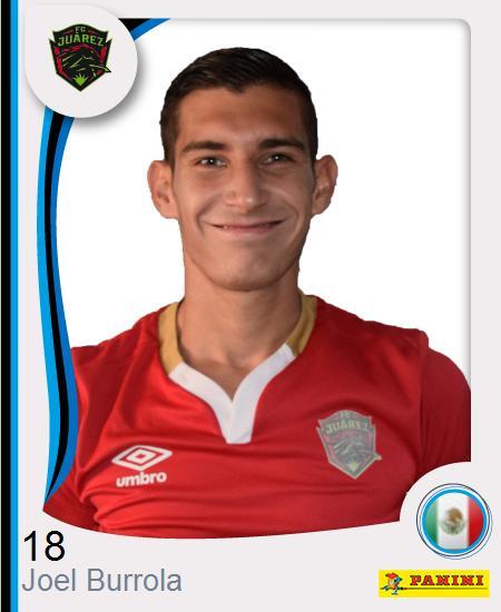 Joel Andrés Burrola Muñoz