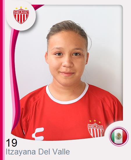 Itzayana Estefanía Del Valle Gutiérrez